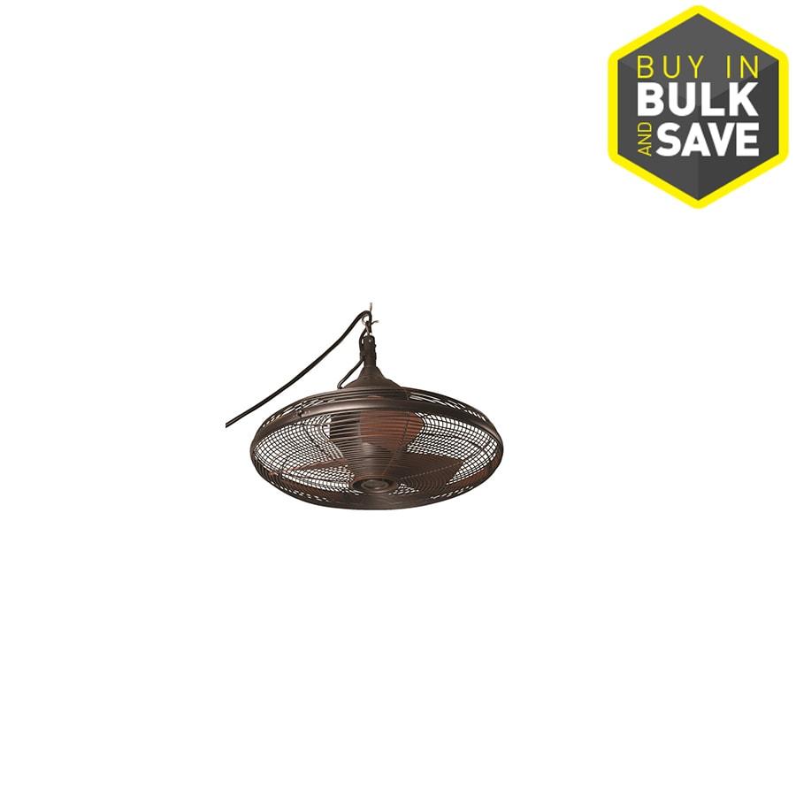 Allen Roth Valdosta 20 In Oil Rubbed Bronze Indoor Outdoor Ceiling Fan 3 Blade L1120h The Fixture Place