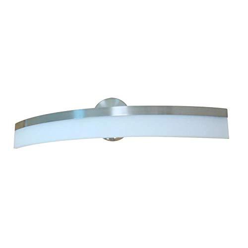 allen + roth Lynnpark 4-Light Nickel Modern/Contemporary Vanity Light Bar – VBL11BNK (Open Box)